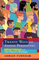 Twenty Ways to Assess Personnel:...