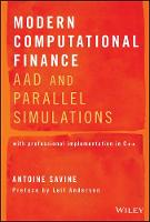 Modern Computational Finance: AAD and...