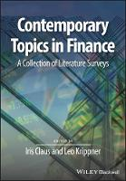 Contemporary Topics in Finance: A...