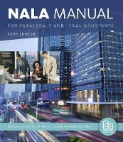 NALA Manual for Paralegals and Legal...