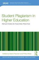 Student Plagiarism in Higher...