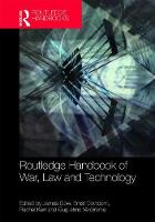 Routledge Handbook of War, Law and...