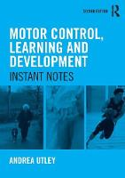 Motor Control, Learning and...