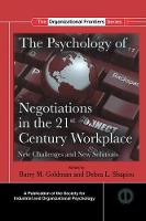 The Psychology of Negotiations in the...