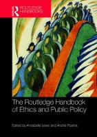 The Routledge Handbook of Ethics and...