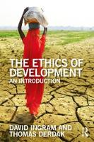 The Ethics of Development: An...