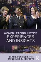 Women Leading Justice: Experiences ...