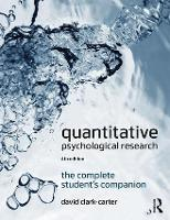 Quantitative Psychological Research:...