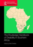 The Routledge Handbook of Disability...