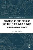 Contesting the Origins of the First...