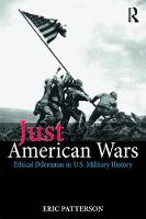 Just American Wars: Ethical Dilemmas...