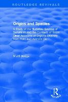 Origins and Species: A Study of the...