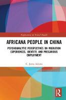 Africana People in China:...