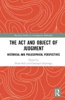 The Act and Object of Judgment:...