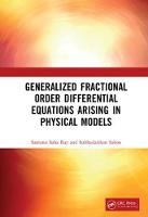 Generalized Fractional Order...