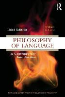 Philosophy of Language: A ...