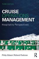 Cruise Operations Management:...