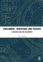 Parliament, Inventions and Patents: A...