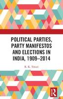 Political Parties, Party Manifestos...