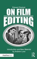 On Film Editing: An Introduction to...