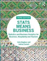 Stats Means Business: Statistics and...