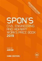 Spon's Civil Engineering and Highway...