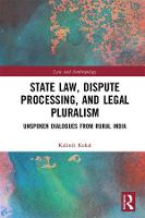 State Law, Dispute Processing And...