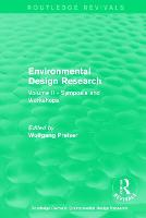 Environmental Design Research: Volume...