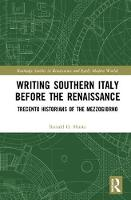 Writing Southern Italy Before the...