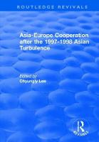 Asia-Europe Cooperation After the...