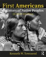 First Americans: A History of Native...