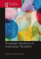The Routledge Handbook of Audiovisual...