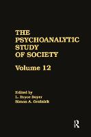 The Psychoanalytic Study of Society,...