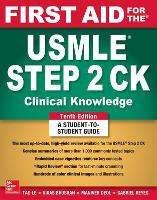 First Aid for the USMLE Step 2 CK,...