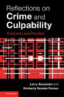 Reflections on Crime and Culpability:...