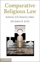 Comparative Religious Law: Judaism,...