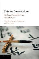 Chinese Contract Law: Civil and ...