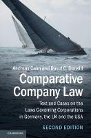 Comparative Company Law: Text and...