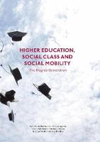 Higher Education, Social Class and...