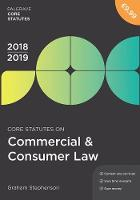 Core Statutes on Commercial & ...