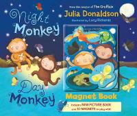 Night Monkey, Day Monkey Magnet Book