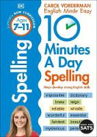 10 Minutes A Day Spelling Ages 7-11...
