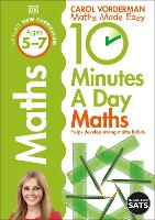 10 Minutes a Day Maths Ages 5-7 Key...