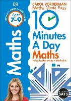 10 Minutes a Day Maths Ages 7-9 Key...