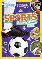 Sports Sticker Activity Book: Over...