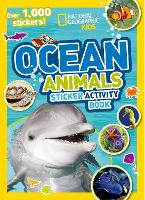 Ocean Animals Sticker Activity Book:...