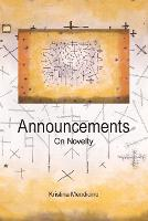 Announcements: On Novelty