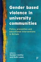 Gender based violence in university...