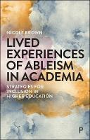 Lived Experiences of Ableism in...