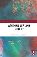 Athenian Law and Society